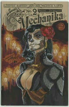 Lady Mechanika - Limited Édition Sketch Cover #2