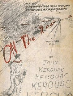 Jack Kerouac's Own On The Road Book Cover