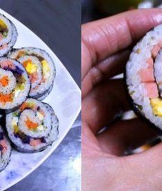 모르면 손해!!예쁘고 이색적인 김밥 12가지 종류 Korean Food, Food Items, Sushi, Cooking, Health, Ethnic Recipes, Kitchen, Korean Cuisine, Health Care
