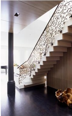whoa.  I love this staircase railing.