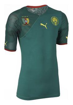 Cameroon (Fédération Camerounaise de Football) - 2010 World Cup Puma Home Shirt