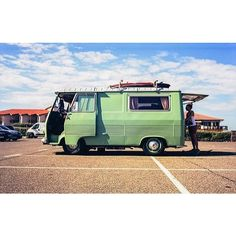 Regram from @therollinghome  what a great shot of a great van  #vanlife #thevanscape #adventure #travel #vibes #surf by thevanscape
