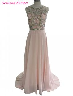 9f08986d725d Cheap prom dresses, Buy Quality crystal prom dresses directly from China hot  prom dress Suppliers: Charming Woman Crystals Prom Dress Hot Sale O Neck  Beaded ...