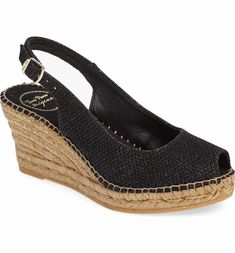 Main Image - Toni Pons Calafell Slingback Wedge Espadrille (Women)