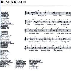 Karel Kryl - Král a klaun [noty na Supermusic.sk]