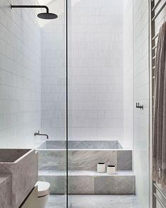 Target Home Decor Albert Park Residence by Robson Rak Bathroom Design Inspiration, Bathroom Interior Design, Design Ideas, Cheap Rustic Decor, Cheap Home Decor, Bathroom Images, Modern Bathroom, Tadelakt, Target Home Decor