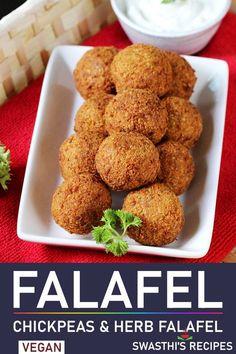 Falafel | How to make falafel Lebanese Falafel Recipe, Lebanese Recipes, Indian Food Recipes, Beef Recipes, Vegan Recipes, Snack Recipes, Cooking Recipes, Indian Foods, Indian Snacks