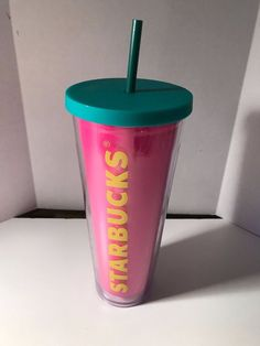 New with tags from Starbucks Starbucks Venti, Cute Cups, Drink Holder, Tumblers, Water Bottle, Plastic, Cold, Mugs, Coffee