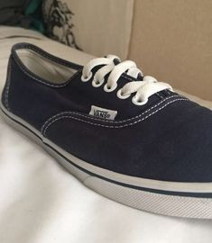 b04e87e427 Vans Authentic Navy Blue  fashion  clothing  shoes  accessories   unisexclothingshoesaccs  unisexadultshoes