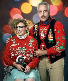 Ugly Christmas Sweater fashion... coming soon to a party near you KerriThe GREEK