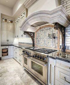 impressive workmanship detailing this gourmet cooking station. @vincethebuilder