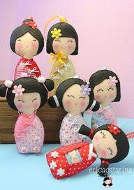 Image detail for -Japanese Kokeshi Dolls
