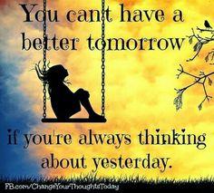 Focus on tomorrow!