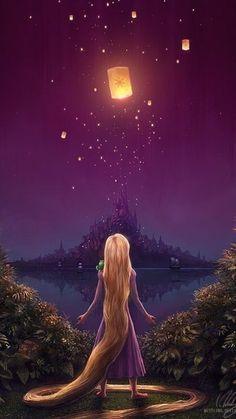 disney, rapunzel, and tangled image Disney Rapunzel, Art Disney, Disney Kunst, Tangled Rapunzel, Punk Disney, Disney Princesses, Disney Movies, Disney Characters, Iphone Background Disney