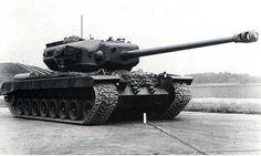 T29 - american heavy tank prototype, project was started in September 1944. Tank was armed in 105 mm gun T5E1.