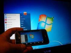Ligue e Controle seu PC remotamente 2 apps - Inexistent Man