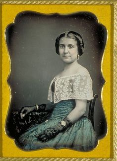 Kate Vance, circa 1840-1860.