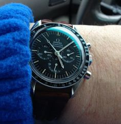 OMEGA Speedmaster Pro Moonwatch Calibre 1861 Chronograph In Stainless Steel - http://omegaforums.net