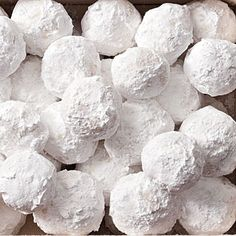 christmas cookie recipes, almonds, food, vanilla extract, snowball, almond snowbal, bar recipes, paper cups, the holiday