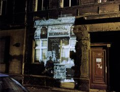 'The Writing on the Wall: Projections in Berlin's Jewish Quarter' by Shimon Attie