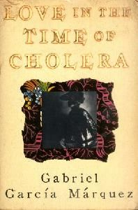 Love in the Time of Cholera, the book, with Sara's name & phone number, featured in Serendipity