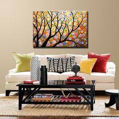 Arte del paisaje original para su hogar o negocio! No de una impresión. Exclusivo y moderno, gran hermosa pintura hecha a mano listos para colgar fuera de la caja.  Si haces clic en cada imagen principal, se abrirá una nueva ventana con una vista más grande para ver detalles aún más.  ------------------------------------------------------------ Esta obra está disponible como una orden de la Comisión, permítame unos 7 días competir su uno de una buena pintura original. ¡Gracias…