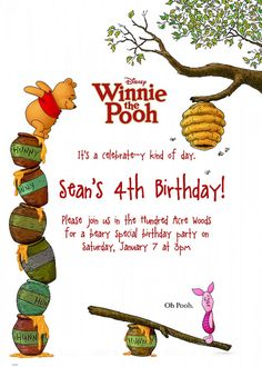 winnie the pooh party - Google Search