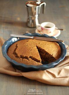 torta al caffè #senzaburro e #senzauova
