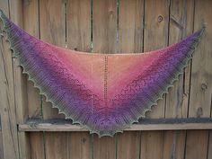 Ravelry: kaylynnknits' Ishbel shawl