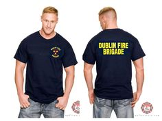 Dublin Fire Brigade tees in time for Saint Patrick's Day!  Wear your Irish pride!