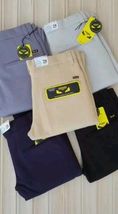 *BRAND: FENDI*🔥 *PREMIUM QUALITY LYCRA TROUSER*💕 *Fabric100% 4 Way high quality Lycra OUR GUARANTEE*👌 *BEST QUALITY FABRIC*🤟🏻 *HIGH QUALITY STITCHING N BUTTONS*🌟🌟 *UNIQUE ARTICLE*🔥 *SIZES :- 28/30/32/34*👍 *PRICE JUST @₹950- free shipping All over the India*😋😘 *FULL STOCK* *DELHIVERY 20 EXTRA* KKD8226669FS Casual Outfits, Fashion Outfits, Weekend Outfit, Cotton Pants, Mens Clothing Styles, Fendi, Trousers, Menswear, How To Wear