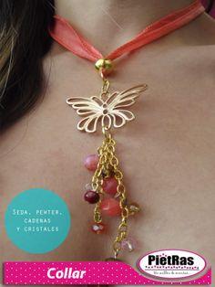¿Qué les parece este lindo collar?   #PietRas