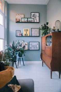 Room Inspiration, Interior Inspiration, Interior Architecture, Interior Design, Interior Garden, Gallery Wall, New Homes, House Design, Living Room