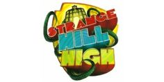 Logo for Strange Hill High the popular CBBC programme http://www.newtoysforkids.co.uk/strange-hill-high-toys