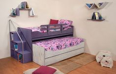 """Κουκέτα """"'Ιος"""" Kids Bedroom, Toddler Bed, Mario, Furniture, Home Decor, Child Bed, Decoration Home, Room Decor, Home Furnishings"""