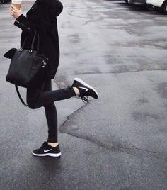 black casual.