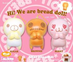 - [Coming soon!!] ~Early October~ Jumbo bread doll angel USD$17 HKD$130 #hksquishy#squishyhk #lunatabby_新貨預告