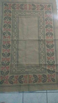 Cross Stitch Borders, Bohemian Rug, Embroidery, Rugs, Angel, Home Decor, Counted Cross Stitches, Diy And Crafts, Crafts