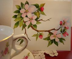 watercolor apple tree - Google Search