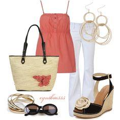 """Pretty Pink"" by cynthia335 on Polyvore"