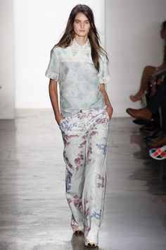 Peter Som Spring 2013 Ready-to-Wear Fashion Show - Andie Arthur