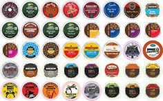 40count KCup All REGULAR Coffee Variety Pack Featuring Green Mountain Coffee People Newmans Organic Emerils Tim Hortons Guy Fieri Marley Donut Shop Tullys  More -- Click image for more details. (This is an affiliate link and I receive a commission for the sales)