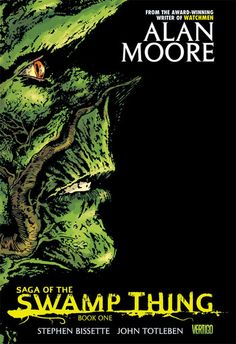 Alan #Moore - Saga of the Swamp Thing Vol. 1 - The issues collected here were groundbreaking not just for Moore but for comics as a whole. Swamp Thing was reportedly the first series that abandoned the Comics Code and composed solely for adults, and Moore's issues created characters like John Constantine and crossover successes like Hellblazer and The Sandman.