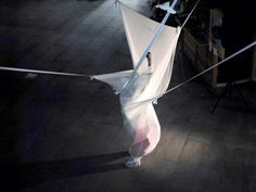 Chris Channing performance installation - 'no flying tonight'