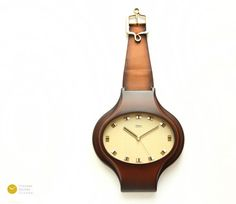 Mid Century DIEHL Wall CLOCK - JUNGHANS 60s Nelson Modern Germany Atomic Space Age mcm 70s - Wanduhr