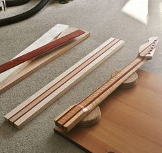 Evolution of a fender-style laminated neck