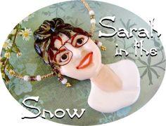 SARAH HelensHarvest Lampwork Glass Sarah Palin by helensharvest, $77.00