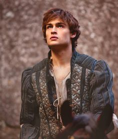 """These violent delights have violent ends  And in their triumph die, like fire and powder,  Which as they kiss consume.""  Douglas Booth in the upcoming Romeo and Juliet film"