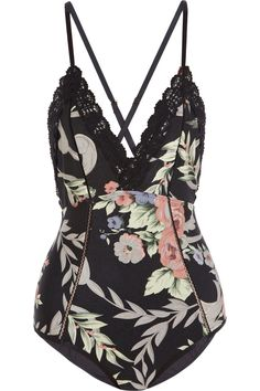 Zimmermann | Keeper floral-print swimsuit | NET-A-PORTER.COM