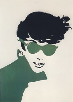 Fashion Illustration by René Gruau (1909 - 2004). http://bertc.com/subfive/i52/gruau28.htm